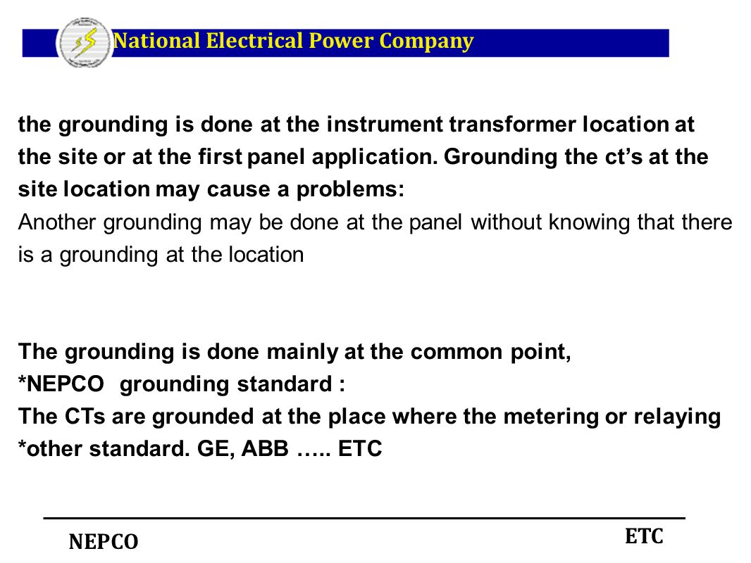 Instrument Transformers Ppt Download 9s Ct Metering Wiring Diagram National Electrical Power Company
