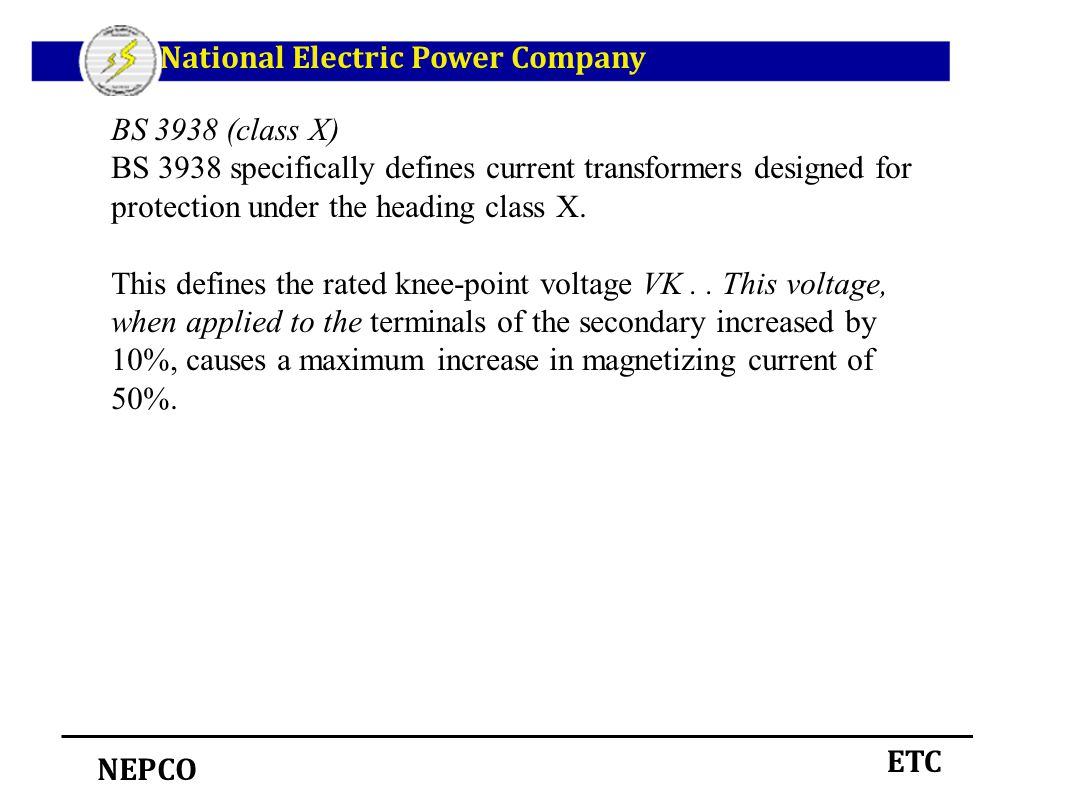 Instrument Transformers Ppt Download Current Transformer Design Software Electronic Circuits National Electric Power Company