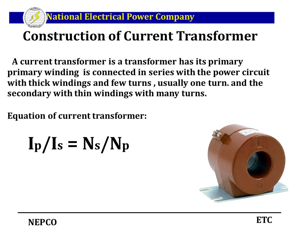 Instrument Transformers Ppt Download Current Transducer Wiring Diagram Construction Of Transformer