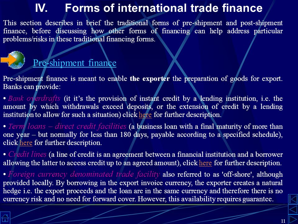 Trade Finance Instruments Techniques And Providers Ppt Download