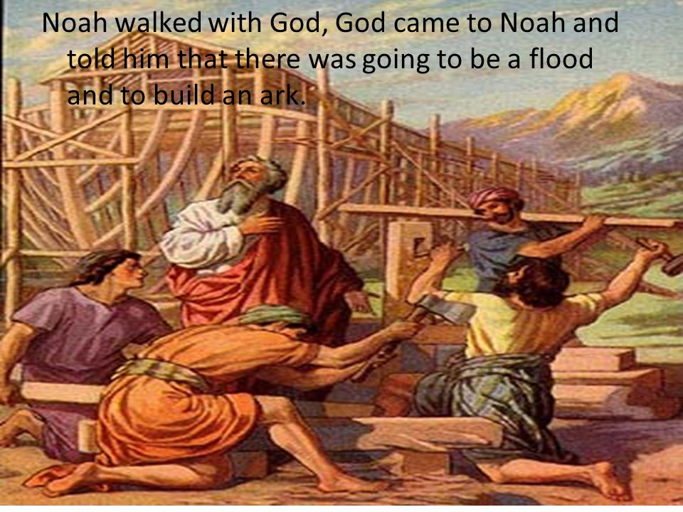 """the flood of noah and the flood The disobedient of noah's day reveled """"until the day that [noah] entered into the ark, and knew not until the flood came, and took them all away"""" (matt 24:38–39) similarly, the wicked at the last days will not know of the destruction at christ's coming until it comes and destroys them all as did the flood."""