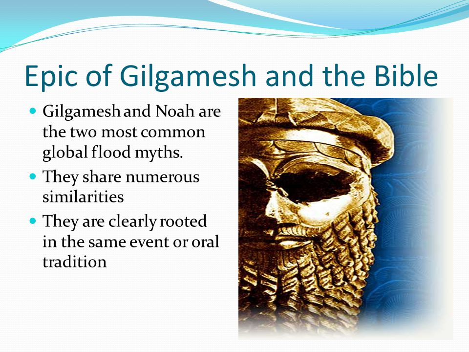 who is gilgamesh in the bible