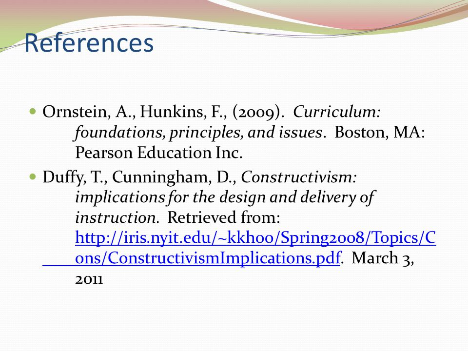 What Every Principal Needs To Know About Constructivism Ppt Video Online Download