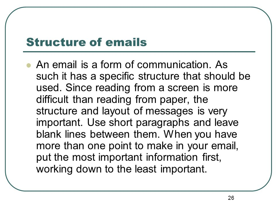 Writing for the workplace ppt video online download structure of emails altavistaventures Images