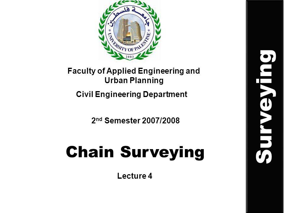 Surveying Chain Surveying
