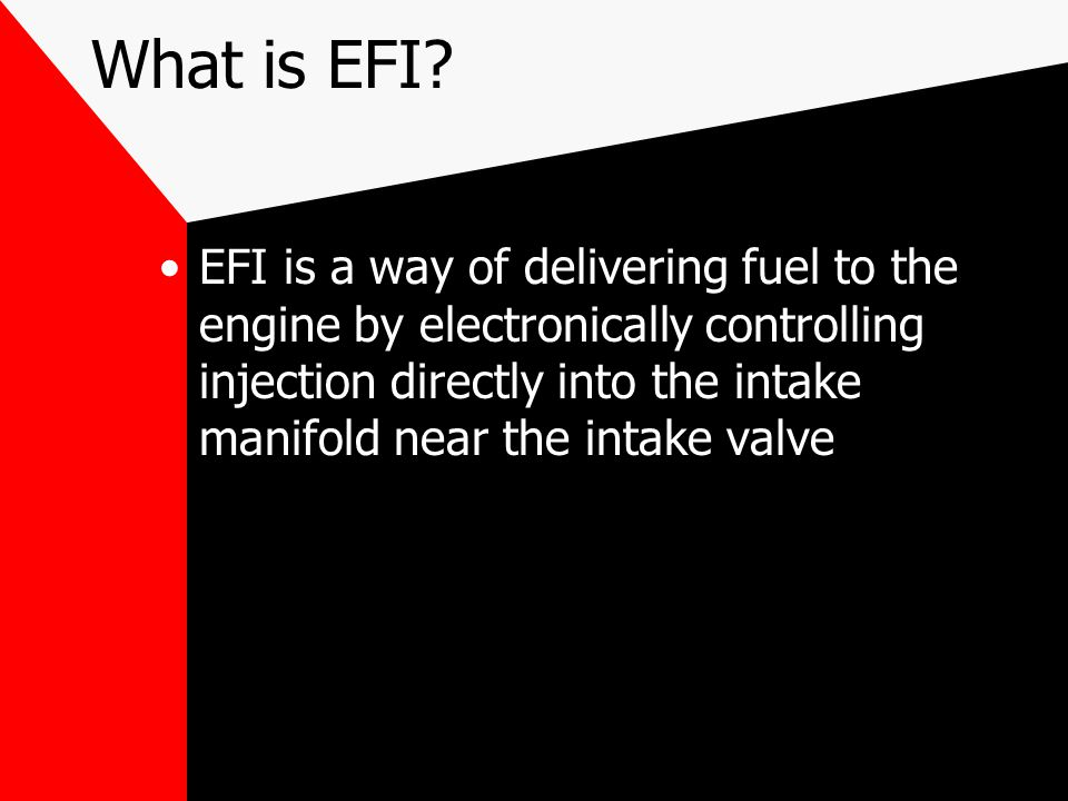What is EFI