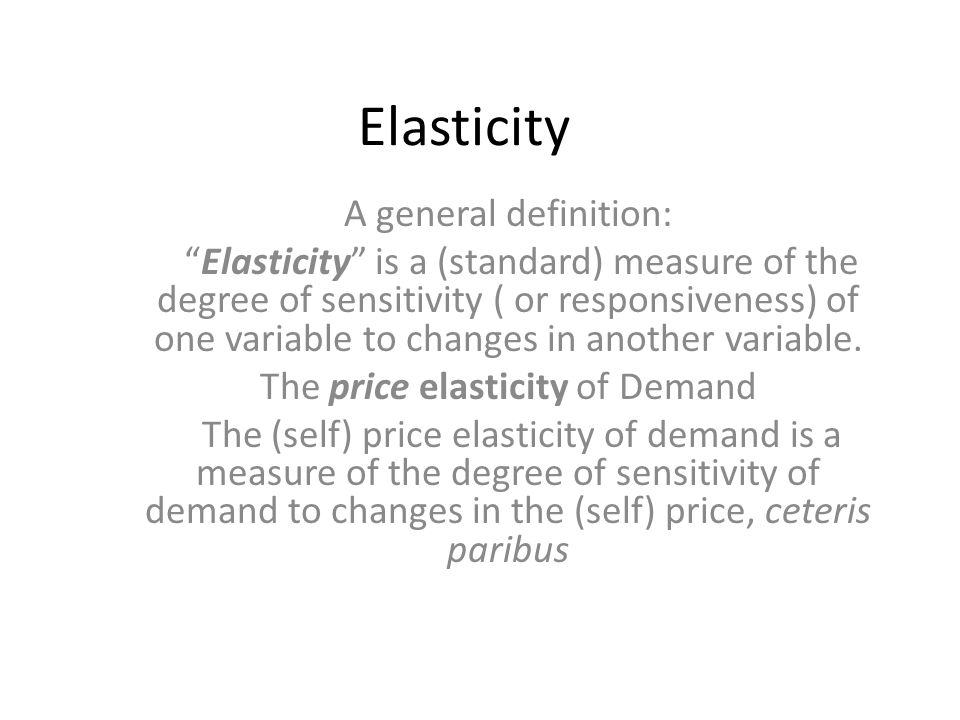 Elasticity Of Demand Sarbjeet Lecturer In Economics Ppt Video Online Download
