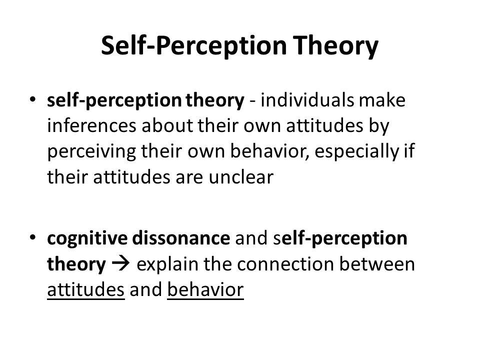 16 self perception theory