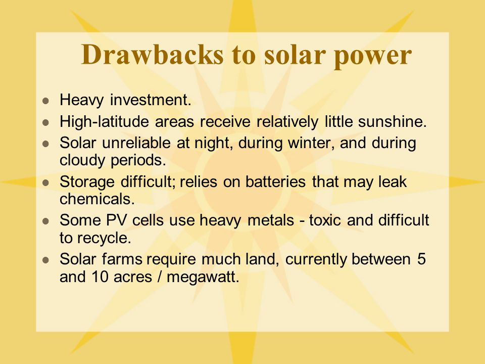 Solar Energy An Overview Ppt Video Online Download