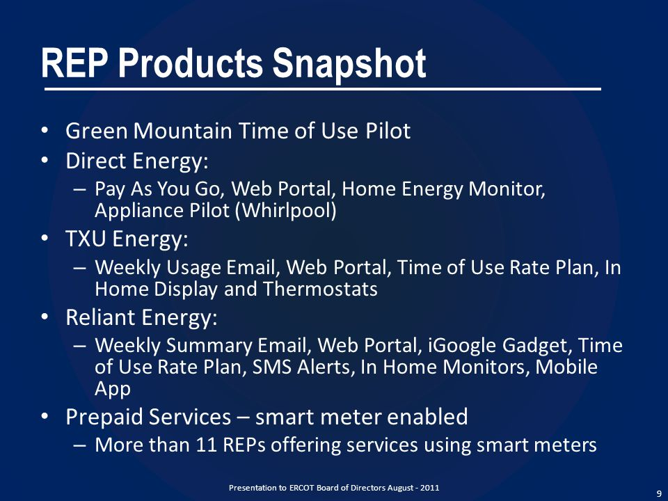 Direct Energy Pay As You Go >> Smart Meter Functionality Implementation Update Ppt Video