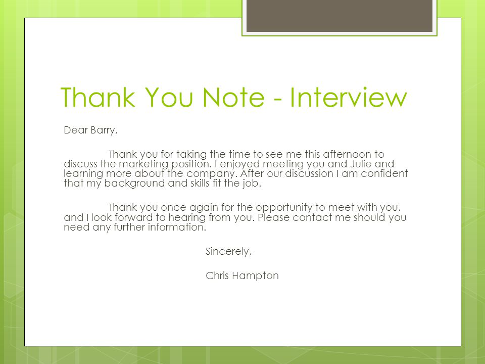 Thank you notes reasons to write a thank you note to show gratitude thank you note interview expocarfo
