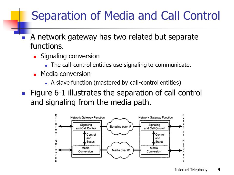 Media Gateway Control and the Softswitch Architecture - ppt