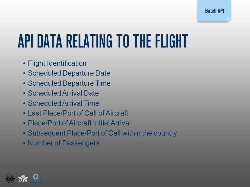 Passenger Data Exchange - ppt video online download