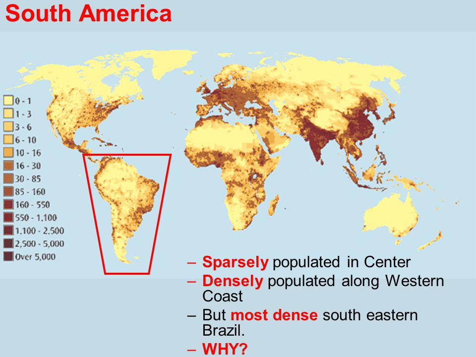 sparsely populated areas in the world
