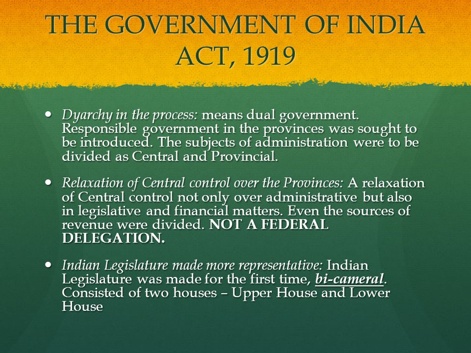 government of india act 1935 features