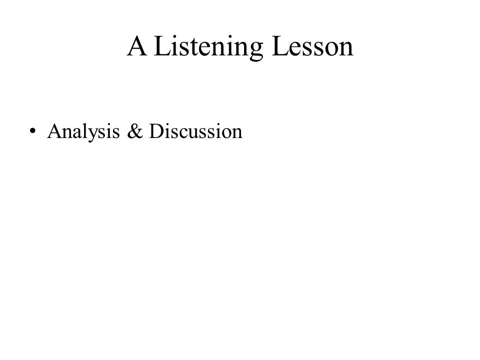 listening skills pdf free download