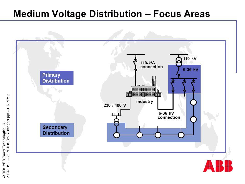 4 medium voltage distribution