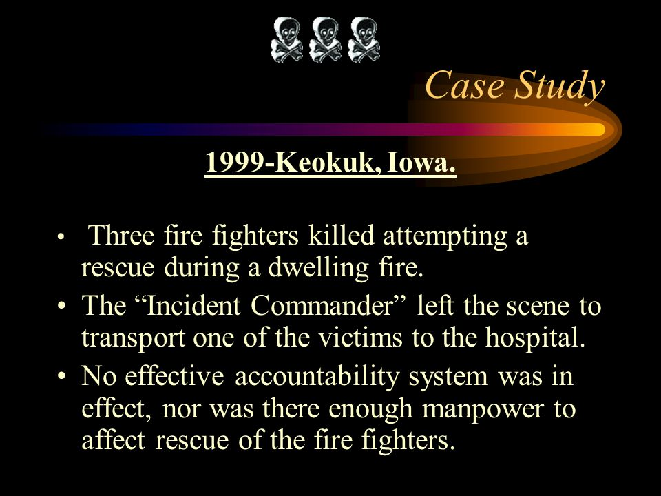 Case Study 1999-Keokuk, Iowa.