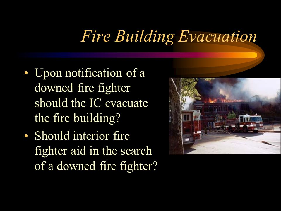Fire Building Evacuation