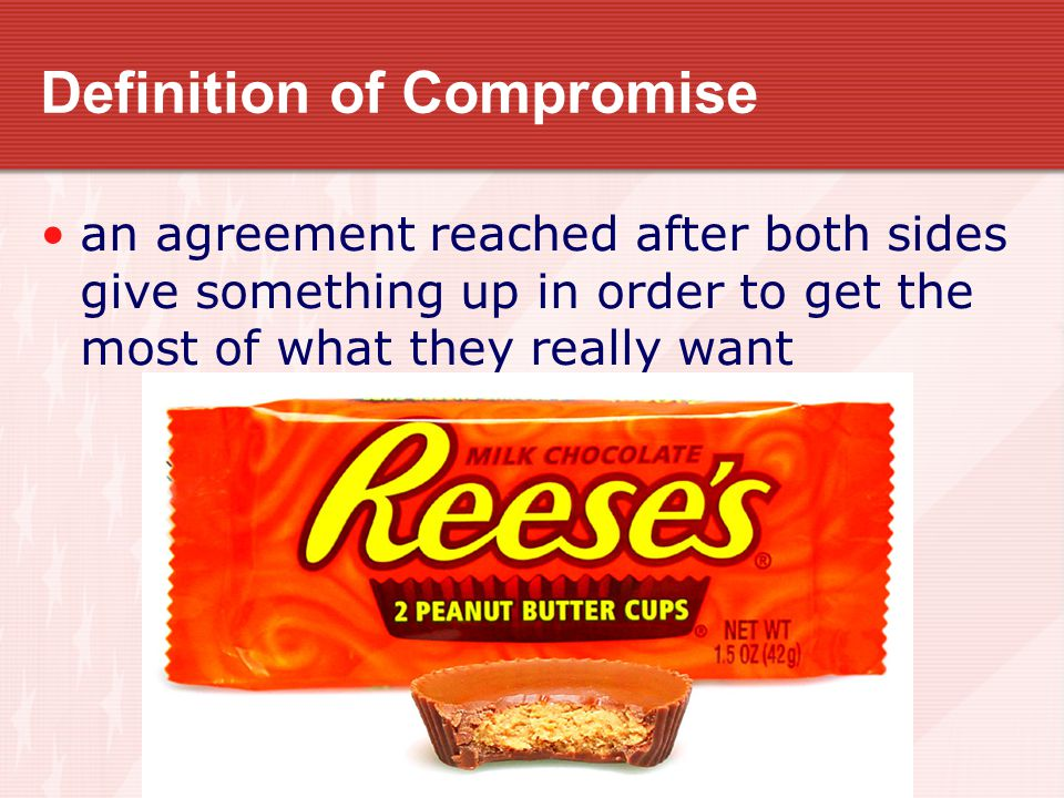 Definition of Compromise