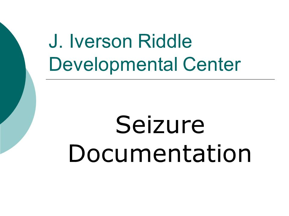 J Iverson Riddle Developmental Center Ppt Download