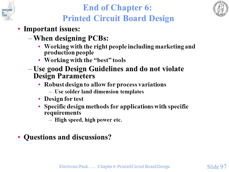 Chapter 6: Printed Circuit Board Design - ppt download