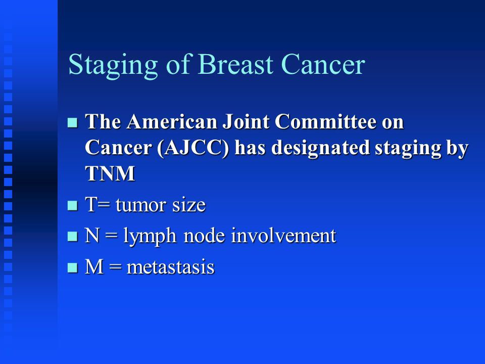 Staging of Breast Cancer