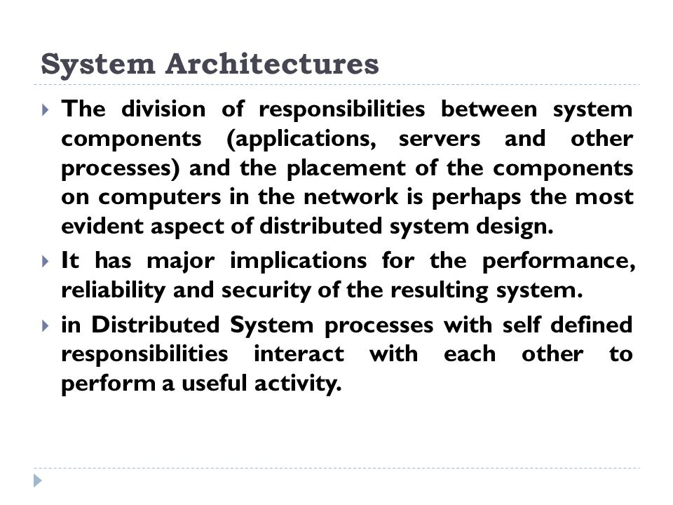 Distributed Systems System Models Chapter Ppt Video Online Download