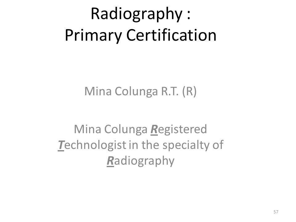 Intro To Radiologic Technology Radt A Ppt Video Online Download