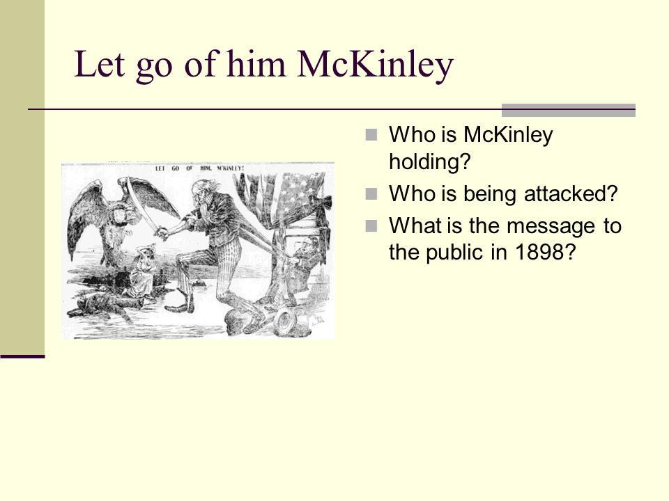 Let go of him McKinley Who is McKinley holding Who is being attacked