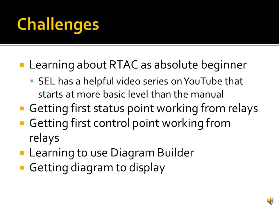 Control and status of simulated breakers using hmi ppt video challenges learning about rtac as absolute beginner ccuart Image collections