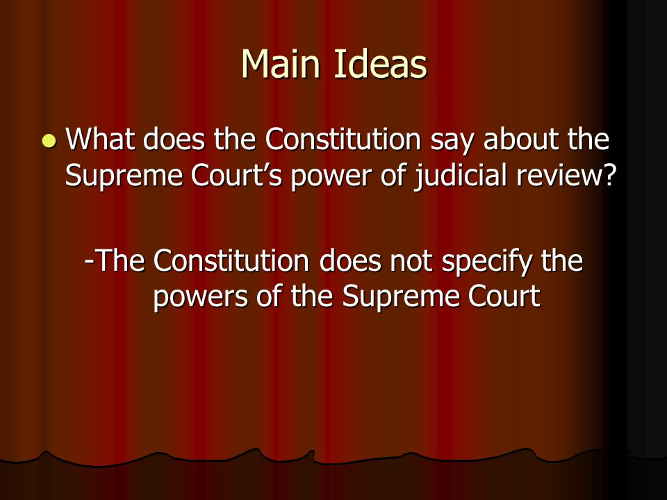 powers of the constitution In fact, historically the powers of the president have been determined by the president, not by the constitution if the president does it and the legislature and the courts don't figure out a way to stop him or her, then it's a power of the president.