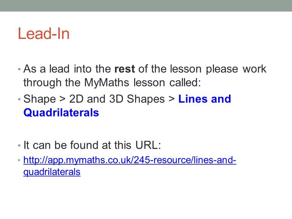 Mathematics 2D Shapes. - ppt video online download
