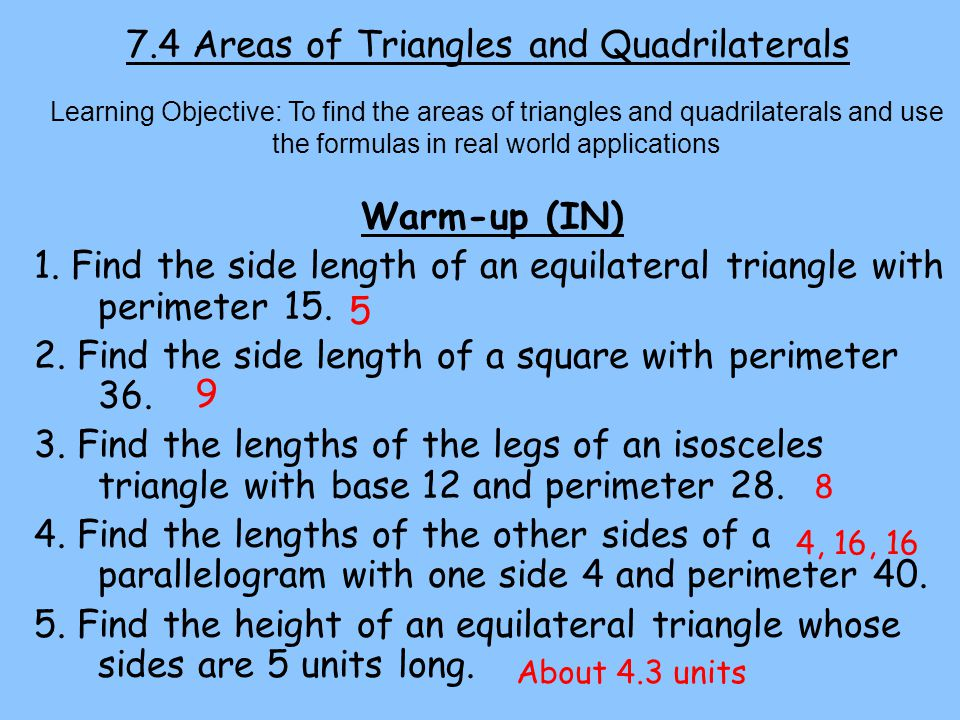 Lesson: An Introduction To Quadrilaterals - Shodor