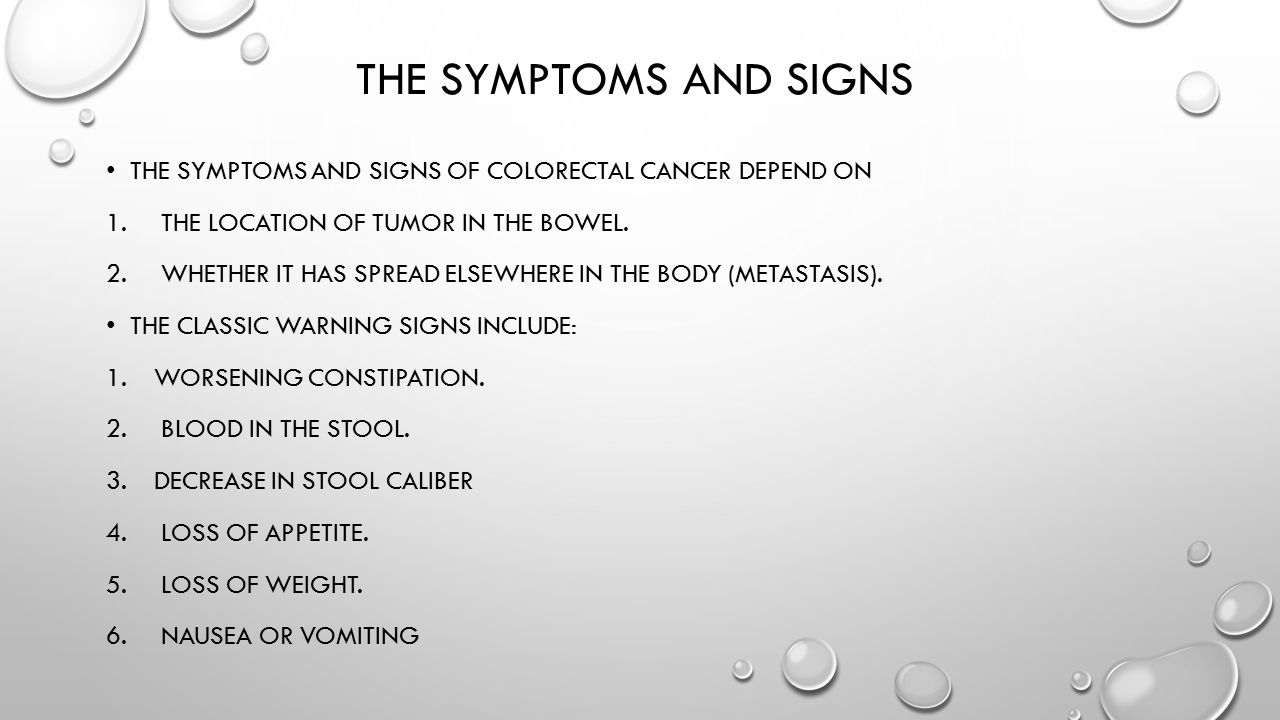 Colon Cancer Ali B Alhailiy Ppt Video Online Download
