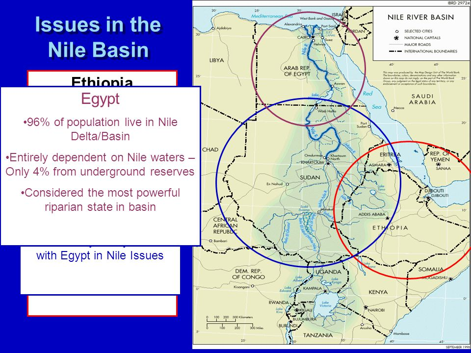 nile river basin conflict Nile river basin with respect to potential conflict or cooperation about water resources the key issue in this regard is the vulnerability of the nile basin states to climate change effects on the nile river.