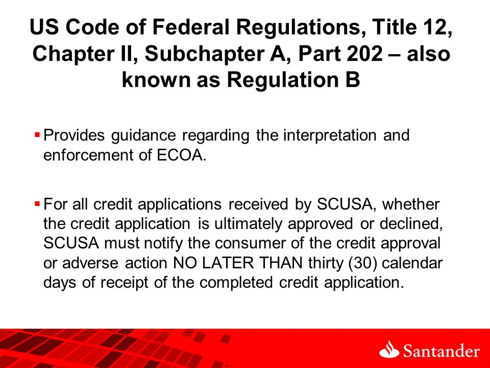 Equal Credit Opportunity Act (ECOA) ppt video online download on sample confidentiality forms, sample grievance forms, sample training forms,