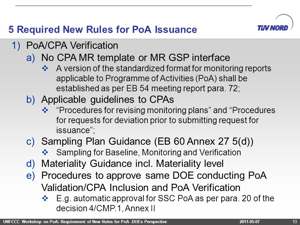 5 Required New Rules for PoA Issuance