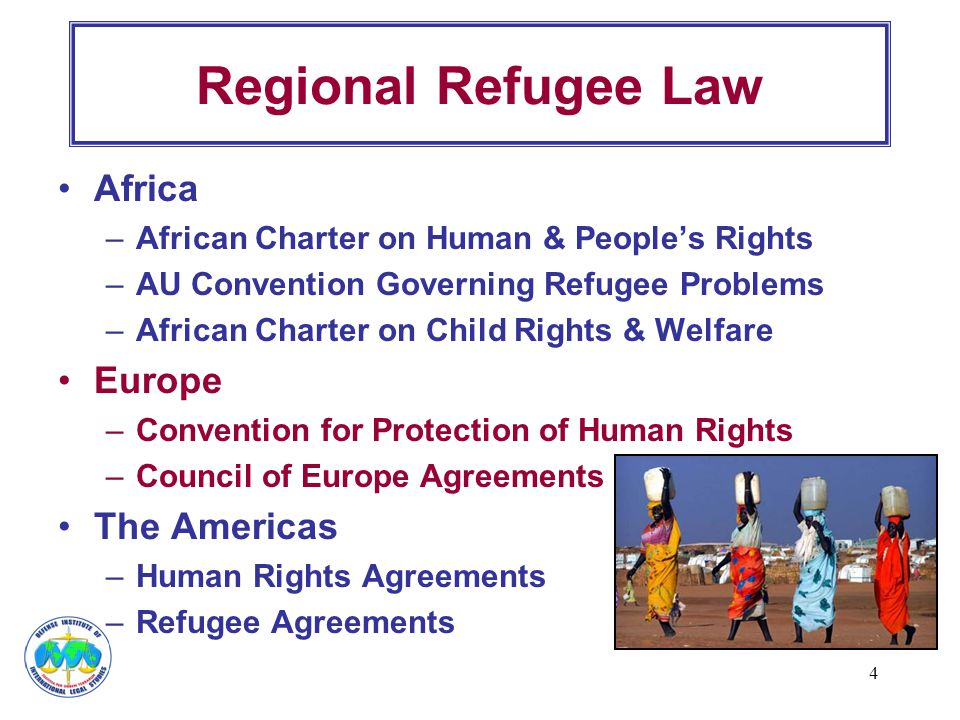 Regional Refugee Law Africa Europe The Americas