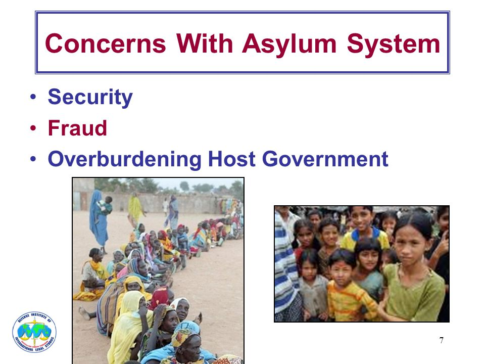 Concerns With Asylum System