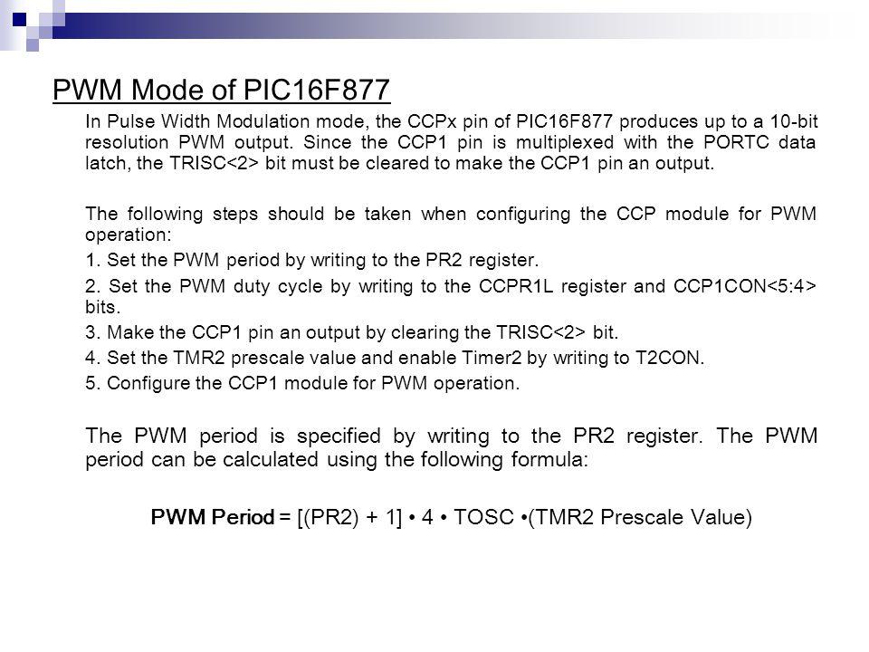 Servo motor angle rotation control by adjusting PWM ratio  - ppt