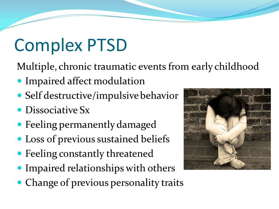 Post Traumatic Stress Disorder In Children Ppt Download