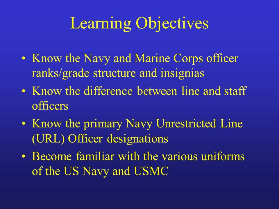 Unrestricted line officer