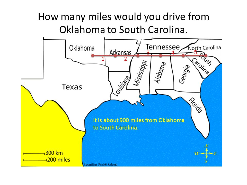 How Many Miles From >> Using Maps Distance Scales Ppt Download