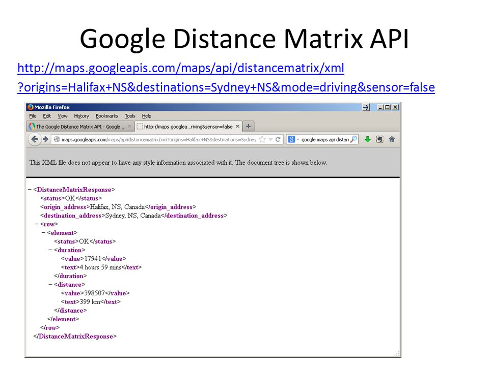 Calculating driving distance between two places - ppt download