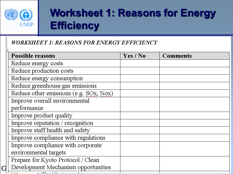 Energy Efficiency Methodology - ppt download