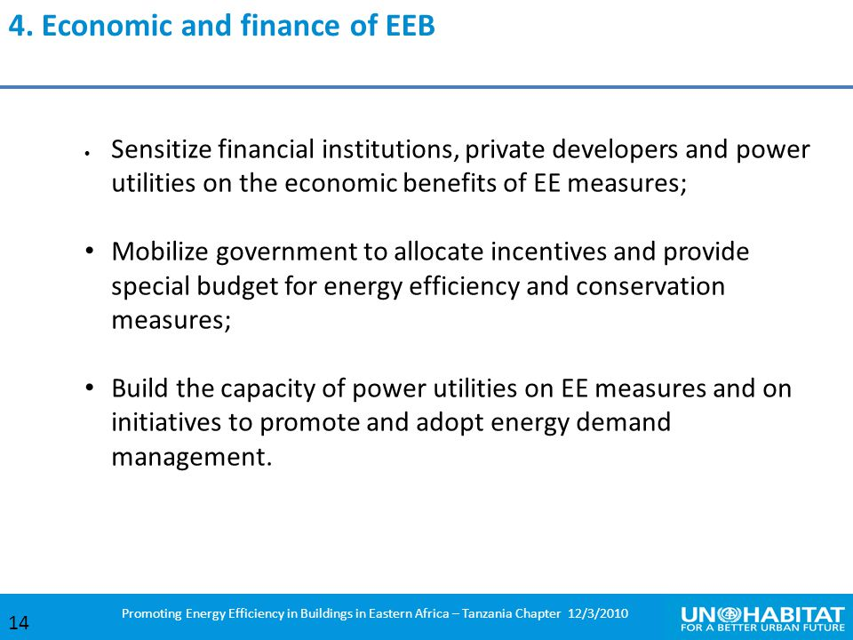 4. Economic and finance of EEB