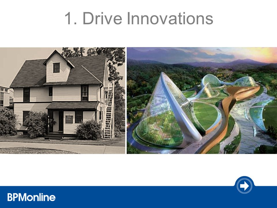 1. Drive Innovations