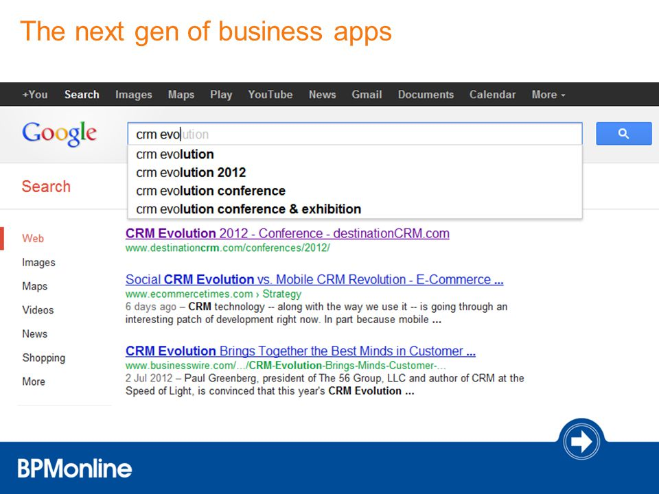 The next gen of business apps