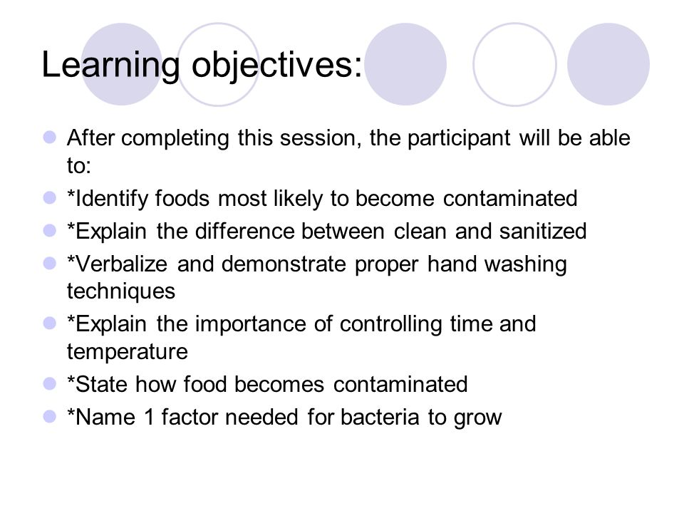 Food Safety and Personal Hygiene - ppt video online download